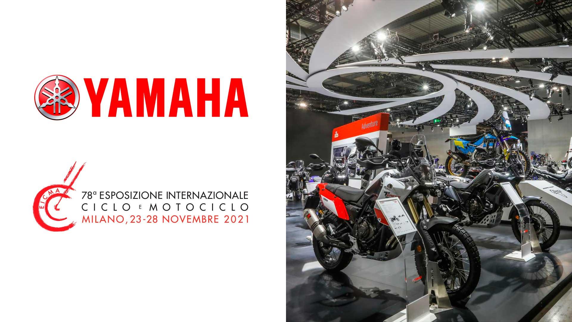 Yamaha estará presente en el Salón EICMA de Milán 2021