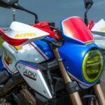 HONDA CB650R FLAT TRACKER by ADN Motors France