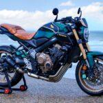 HONDA CB650R FOUR FLAT TRACKER by Espace Moto France