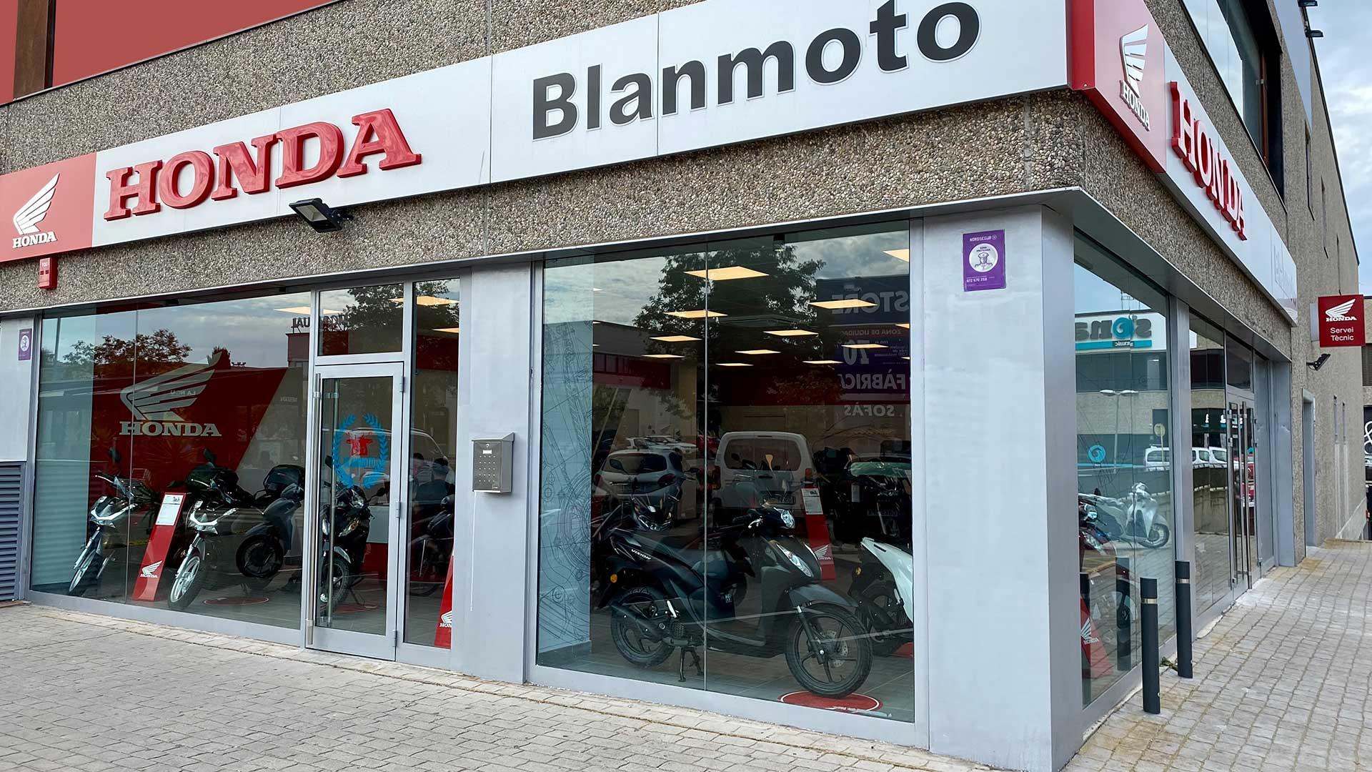 Blanmoto abre un nuevo concesionario oficial Honda en Blanes