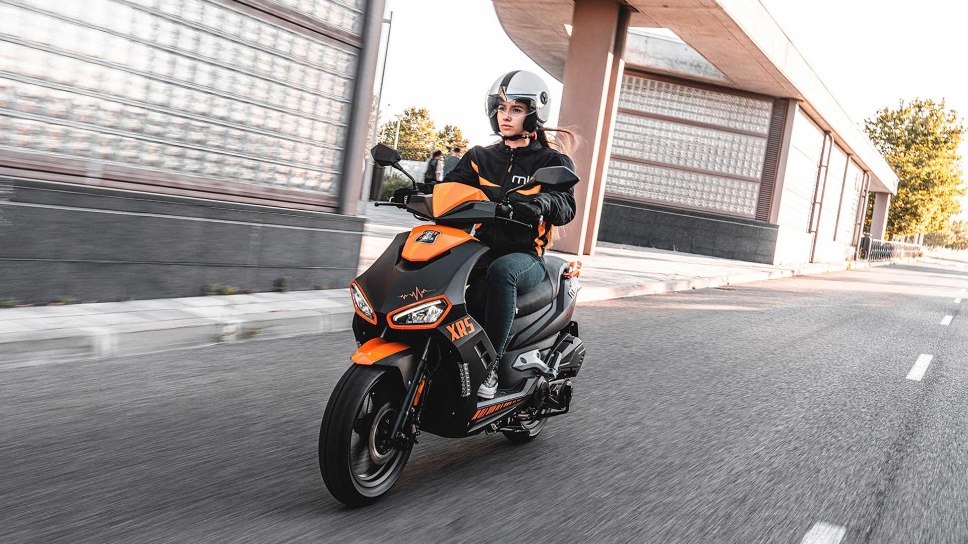 Nuevo MITT 125 XRS: un nuevo scooter de aspecto deportivo