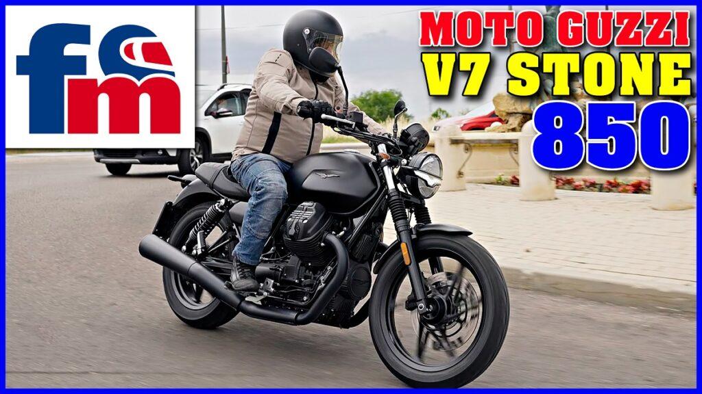 Moto Guzzi V7 Stone 850