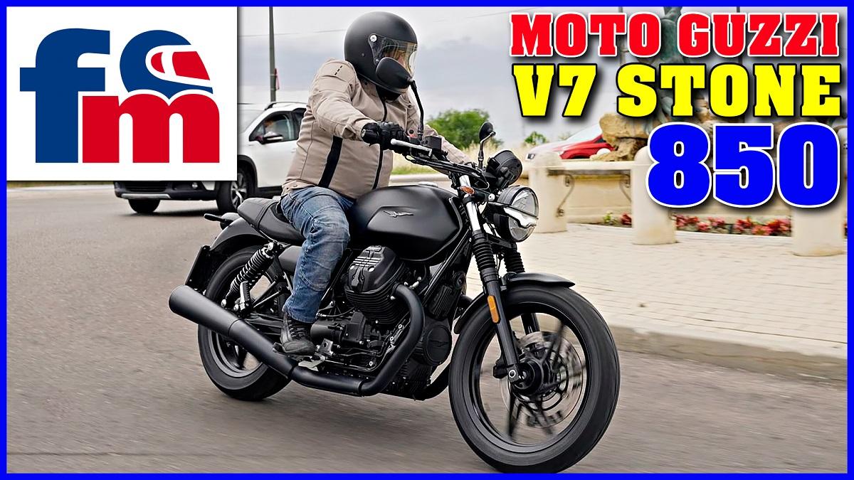 (VÍDEO) Moto Guzzi V7 Stone 850
