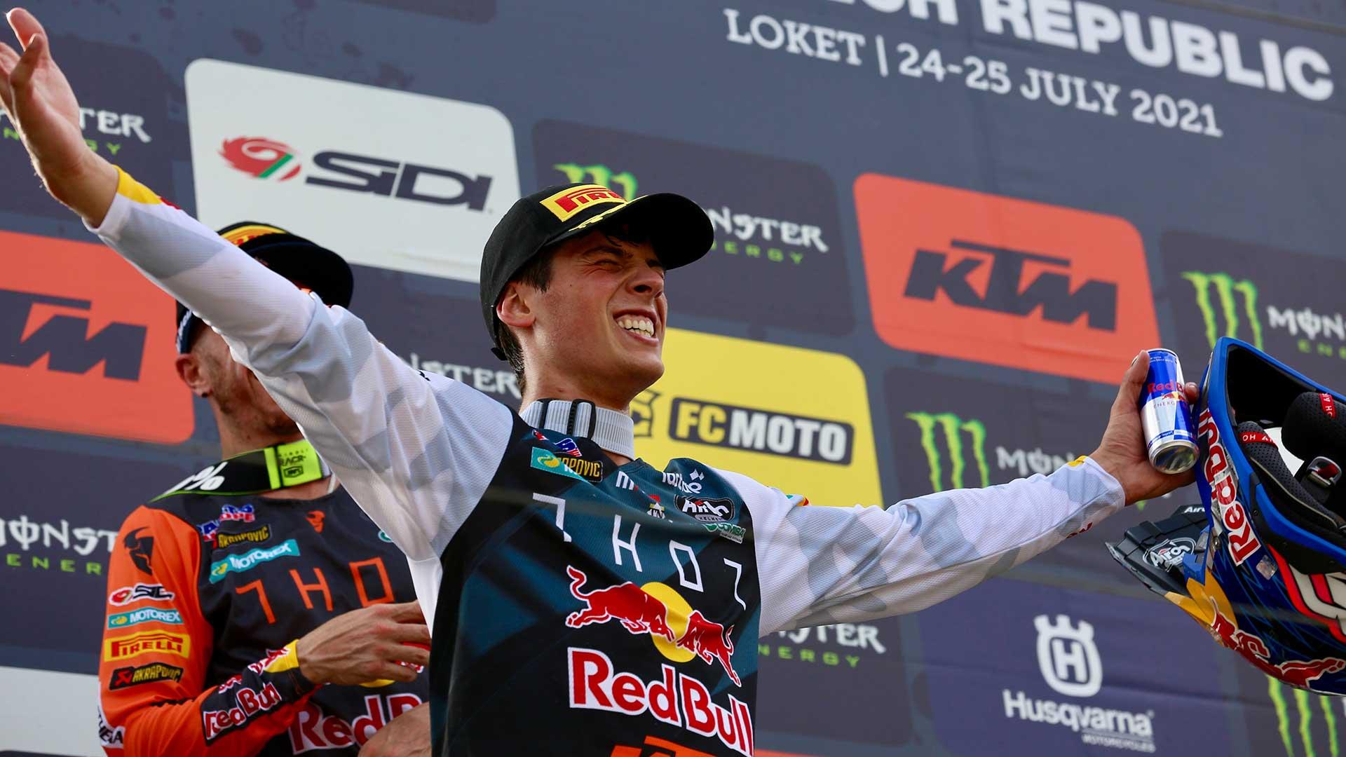 Primera victoria del año para Jorge Prado