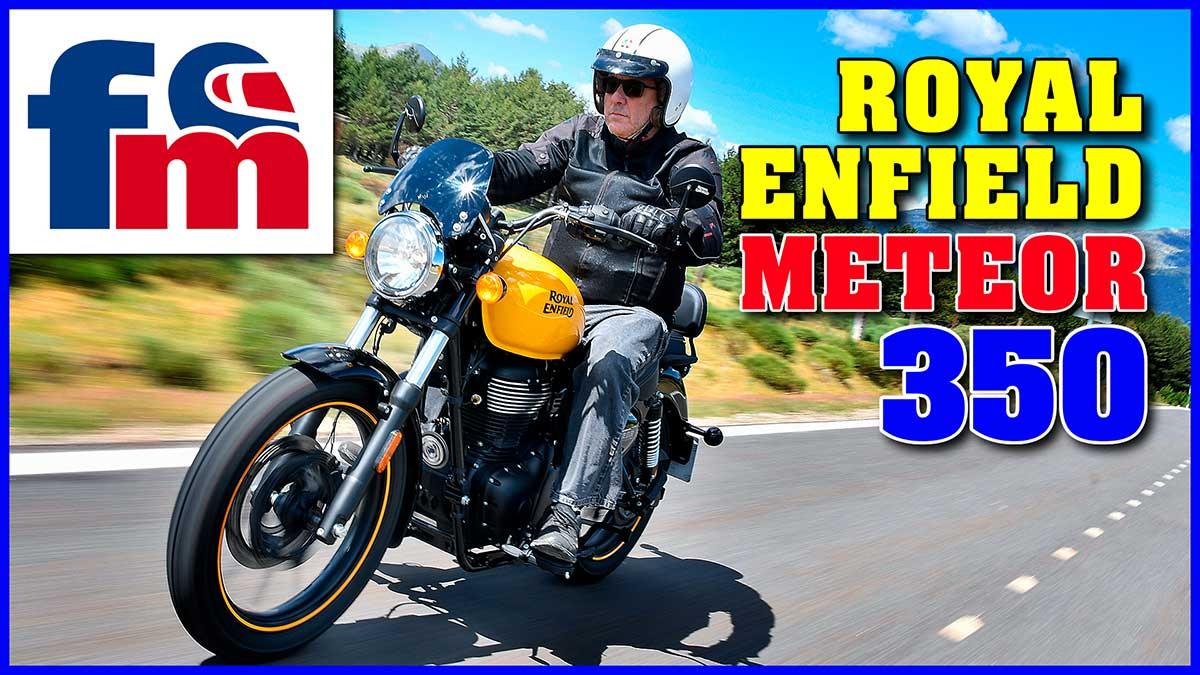 (Vídeo) Royal Enfield Meteor 350