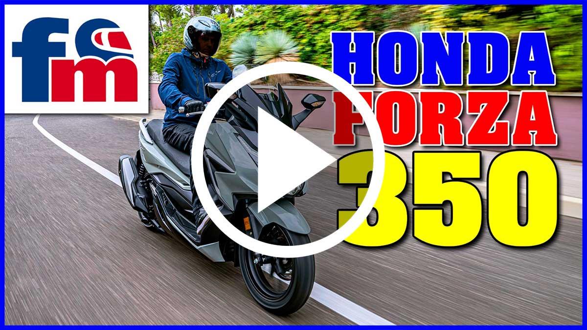 (Vídeo) Honda Forza 350
