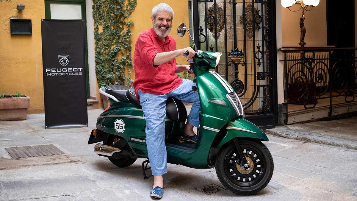 Lorenzo Caprile, nuevo embajador del Peugeot Django
