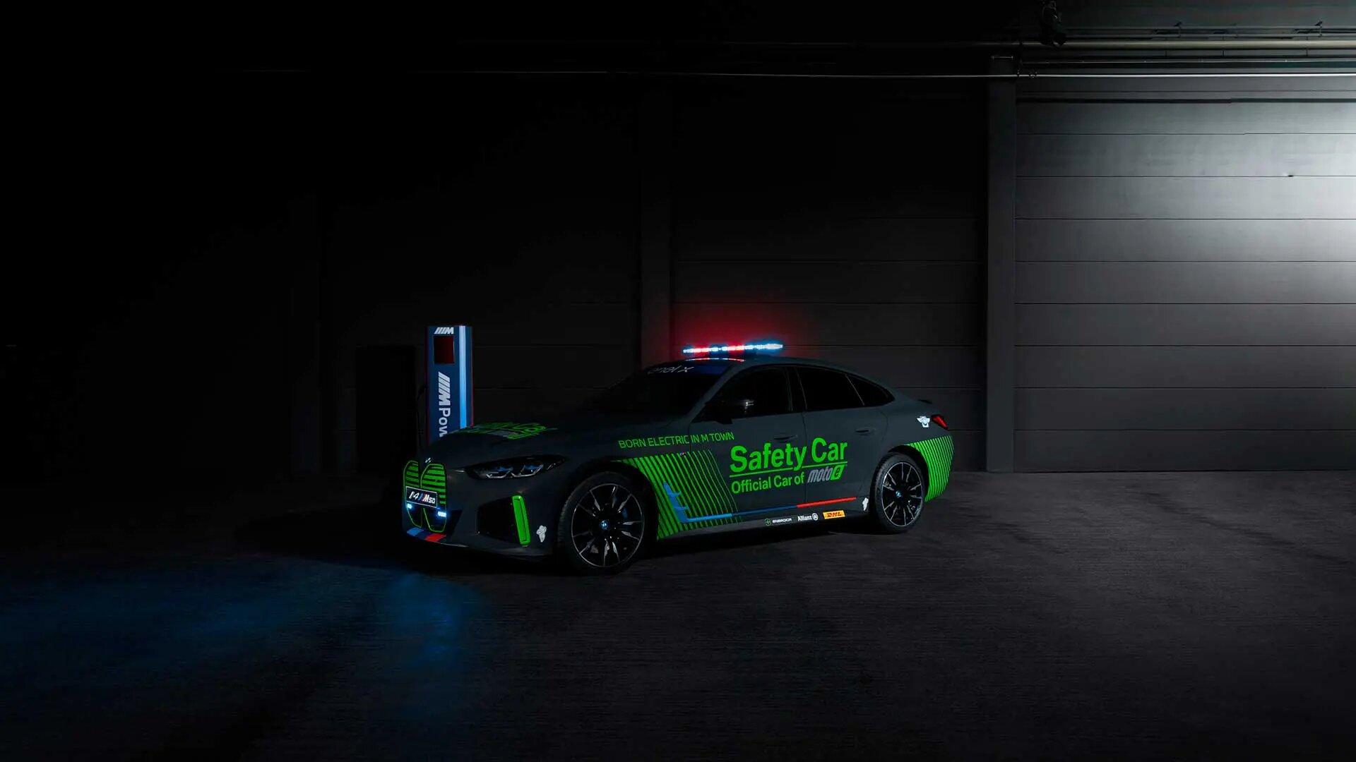 BMW M presenta el nuevo Safety Car que estará presente en la categoría MotoE