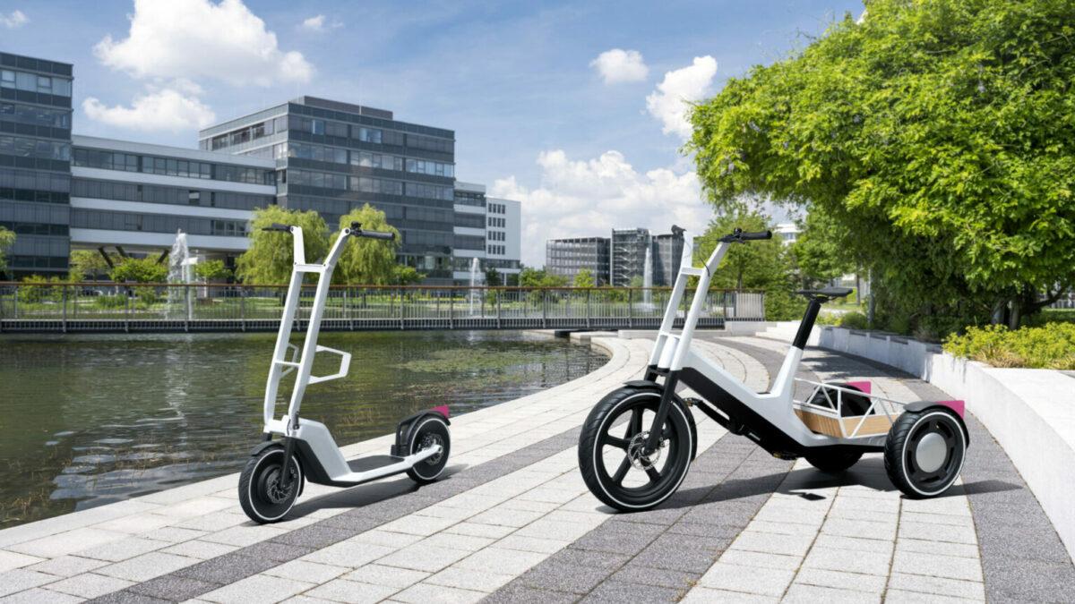 BMW patinete eléctrico y bicicleta de carga