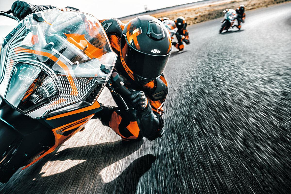 Las KTM RC 125 y RC 390 2022 se inspiran en MotoGP