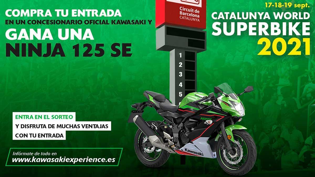 Disfruta del GP de Cataluña de WSBK con Kawasaki