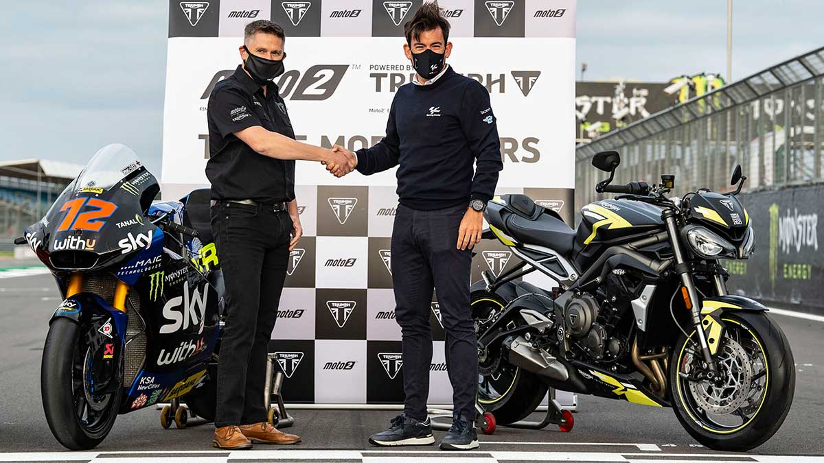 Triumph, proveedor oficial de motores en Moto2 hasta 2024