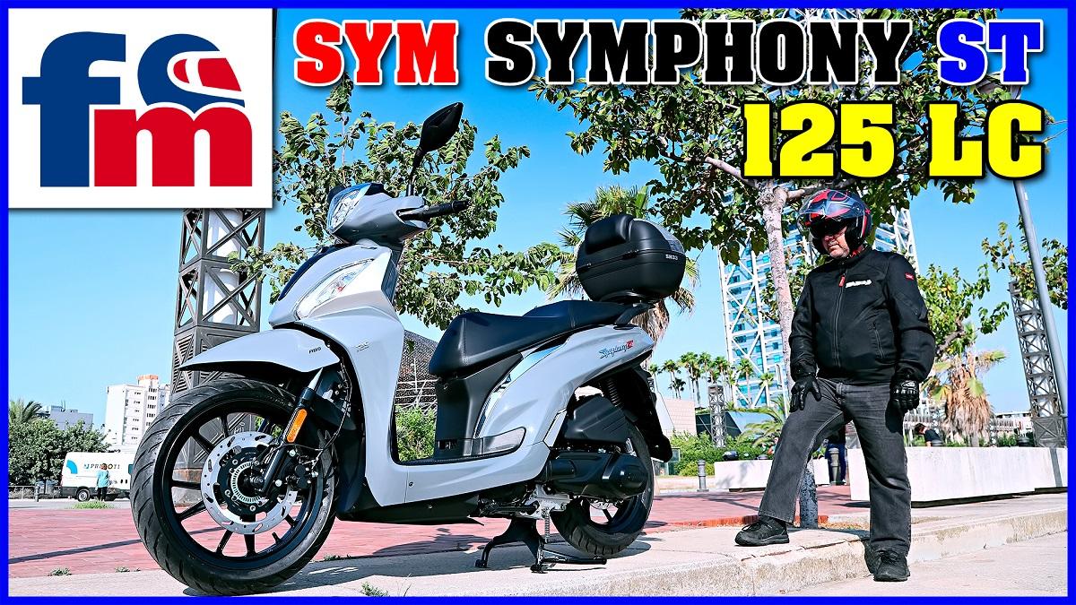 (VÍDEO) SYM Symphony ST 125 LC