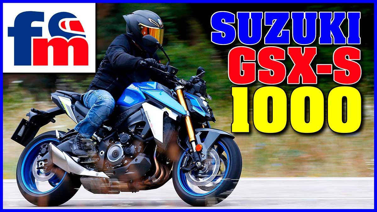 (Vídeo) Suzuki GSX-S 1000