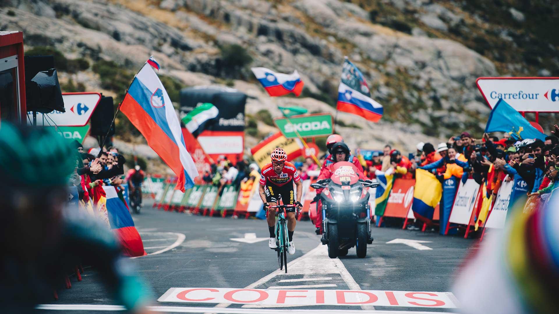 Yamaha estará de nuevo presente en La Vuelta