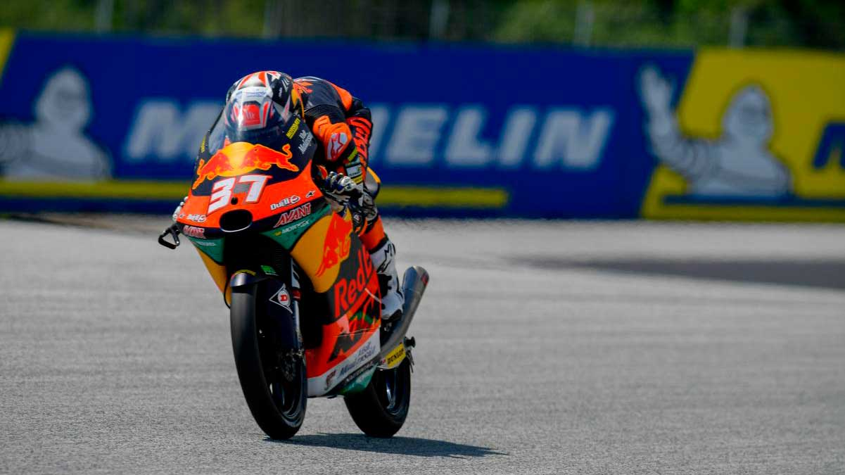 Moto3 Estiria: Acosta vence tras una intensa batalla con García
