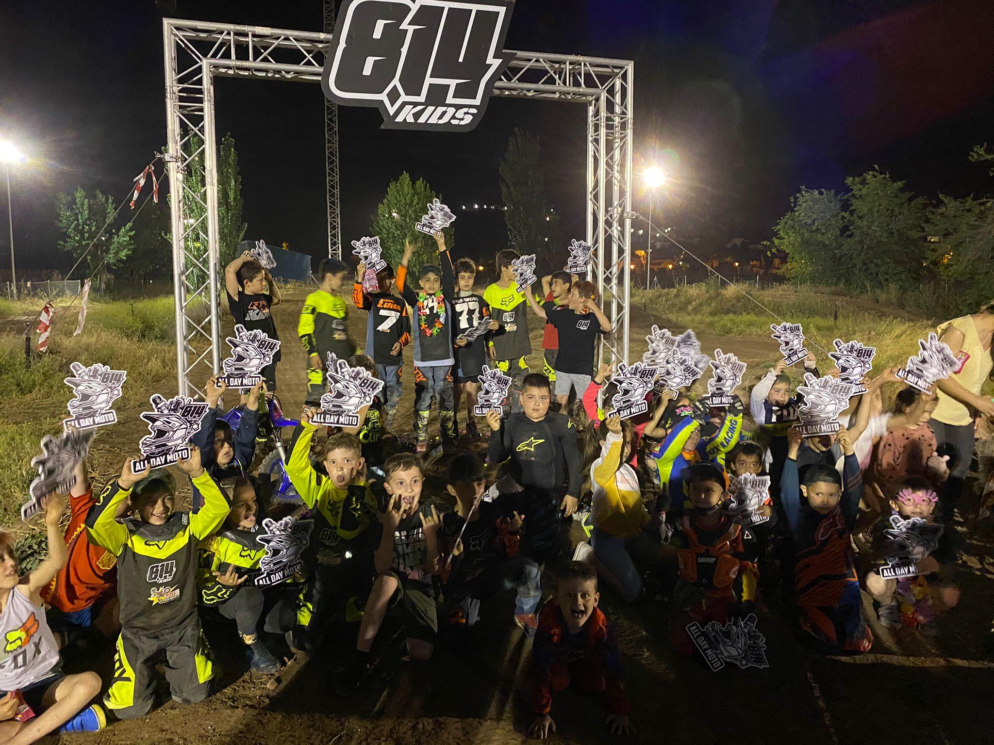escuela motocross 814 Kids