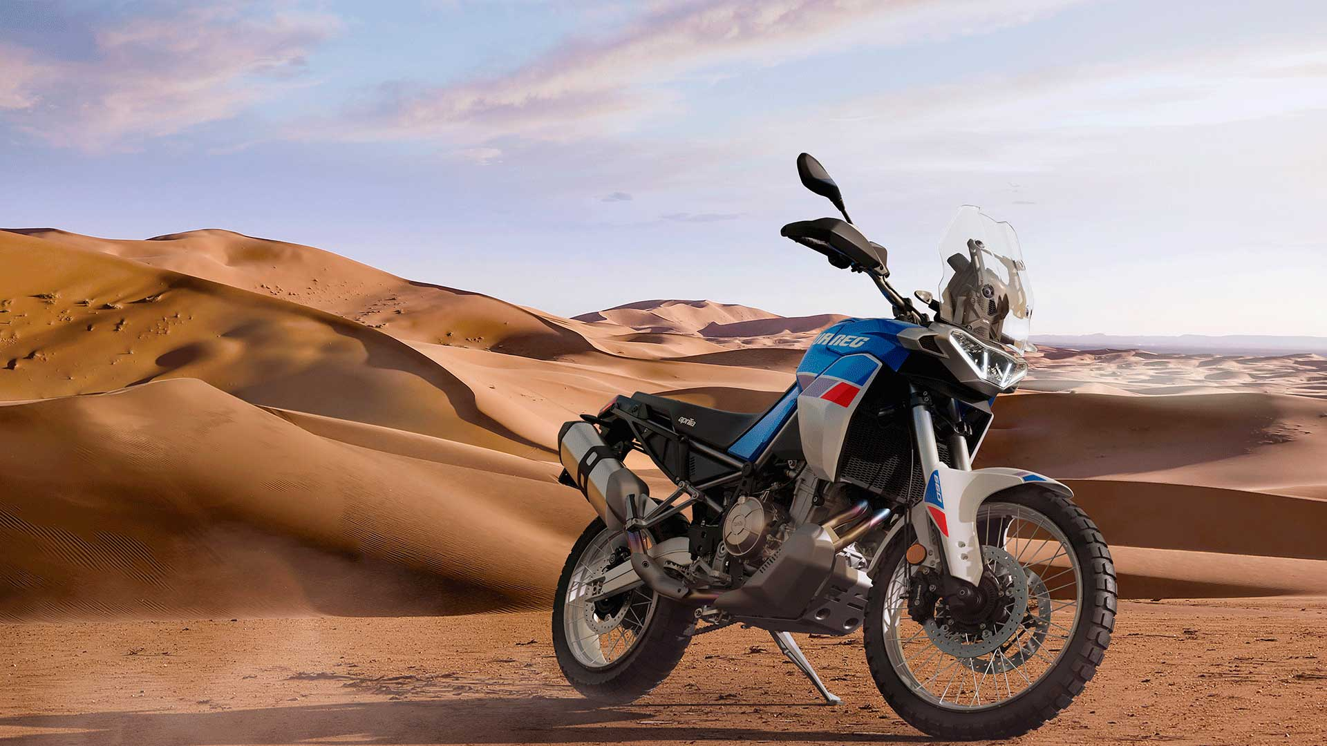 Aprilia Tuareg 660 2022: primeras imágenes e información oficial