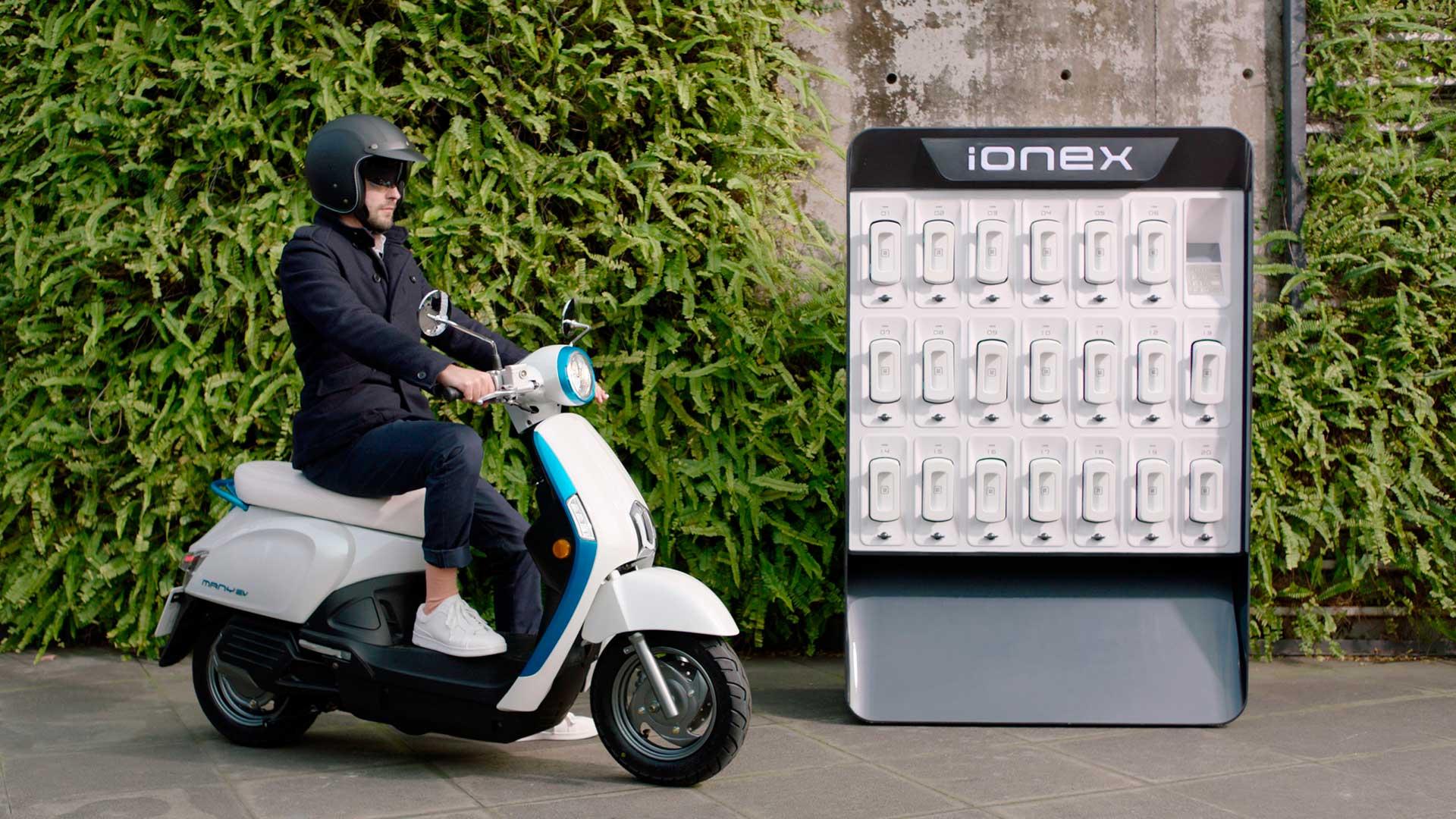 El Grupo KYMCO presenta IONEX Recharge