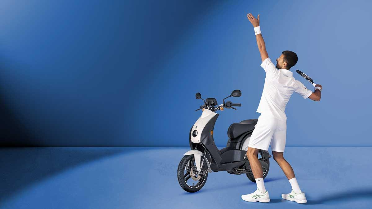 Novak Djokovic, nuevo embajador de Peugeot Motocycles