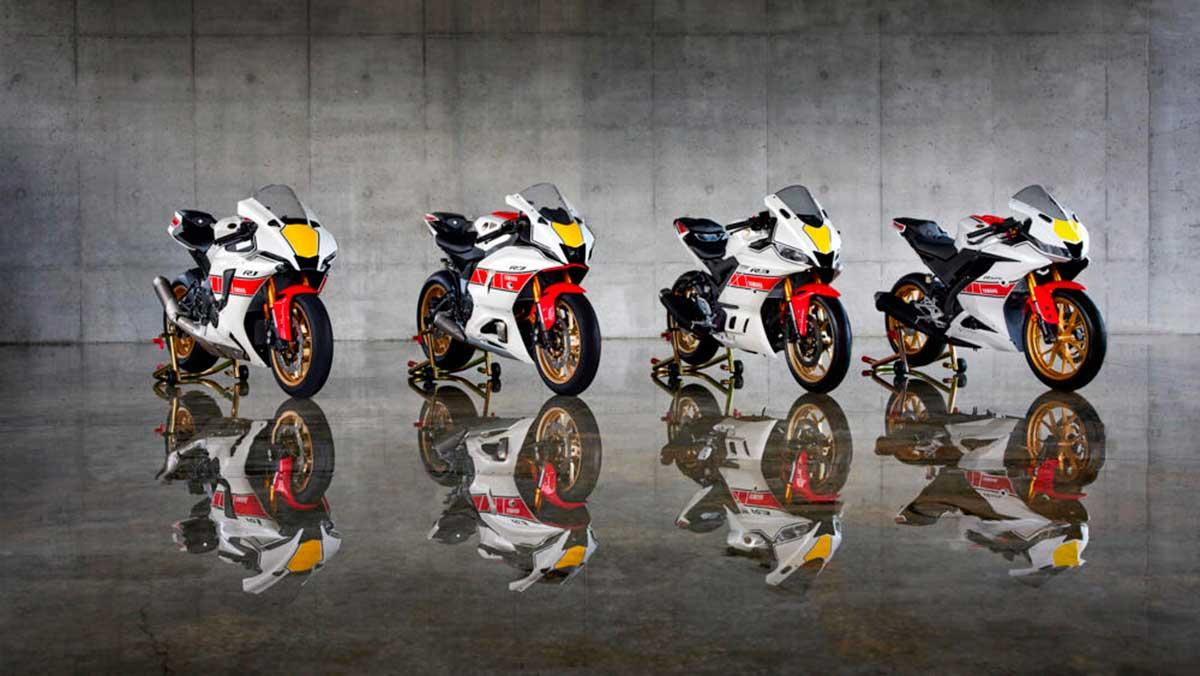 Yamaha celebra sus 60 años en el Mundial con una edición especial para su serie R
