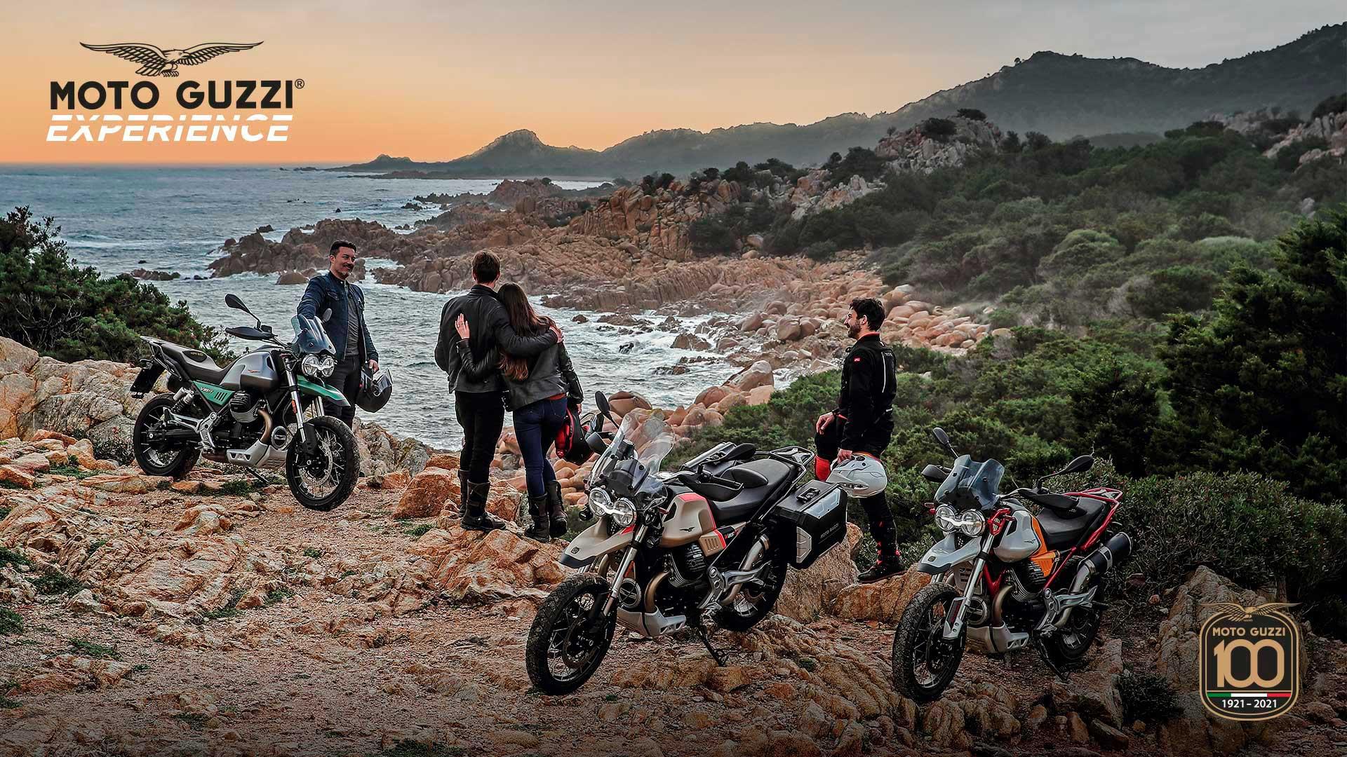 Moto Guzzi Experience: juntos por los caminos de tierra de la Toscana