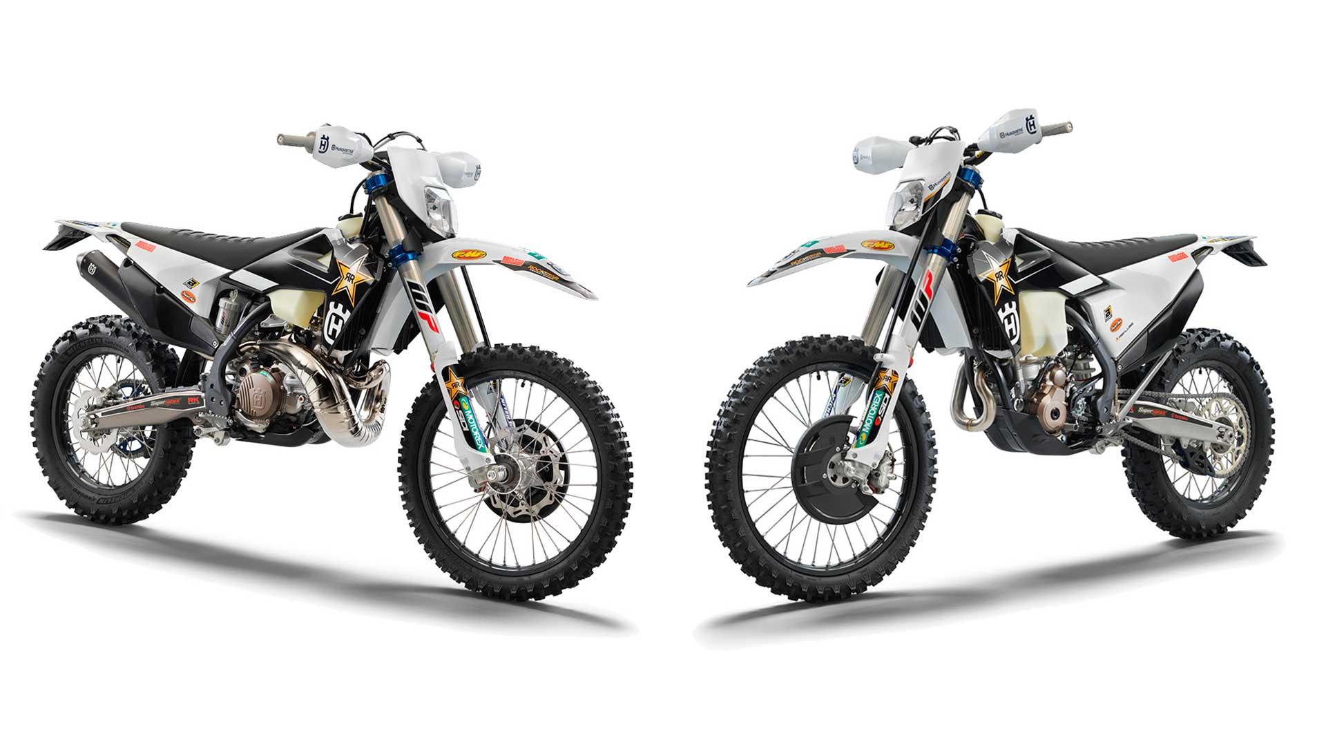 Nuevas Husqvarna TE 300i y FE 350 Rockstar Edition 2022: supera tus límites