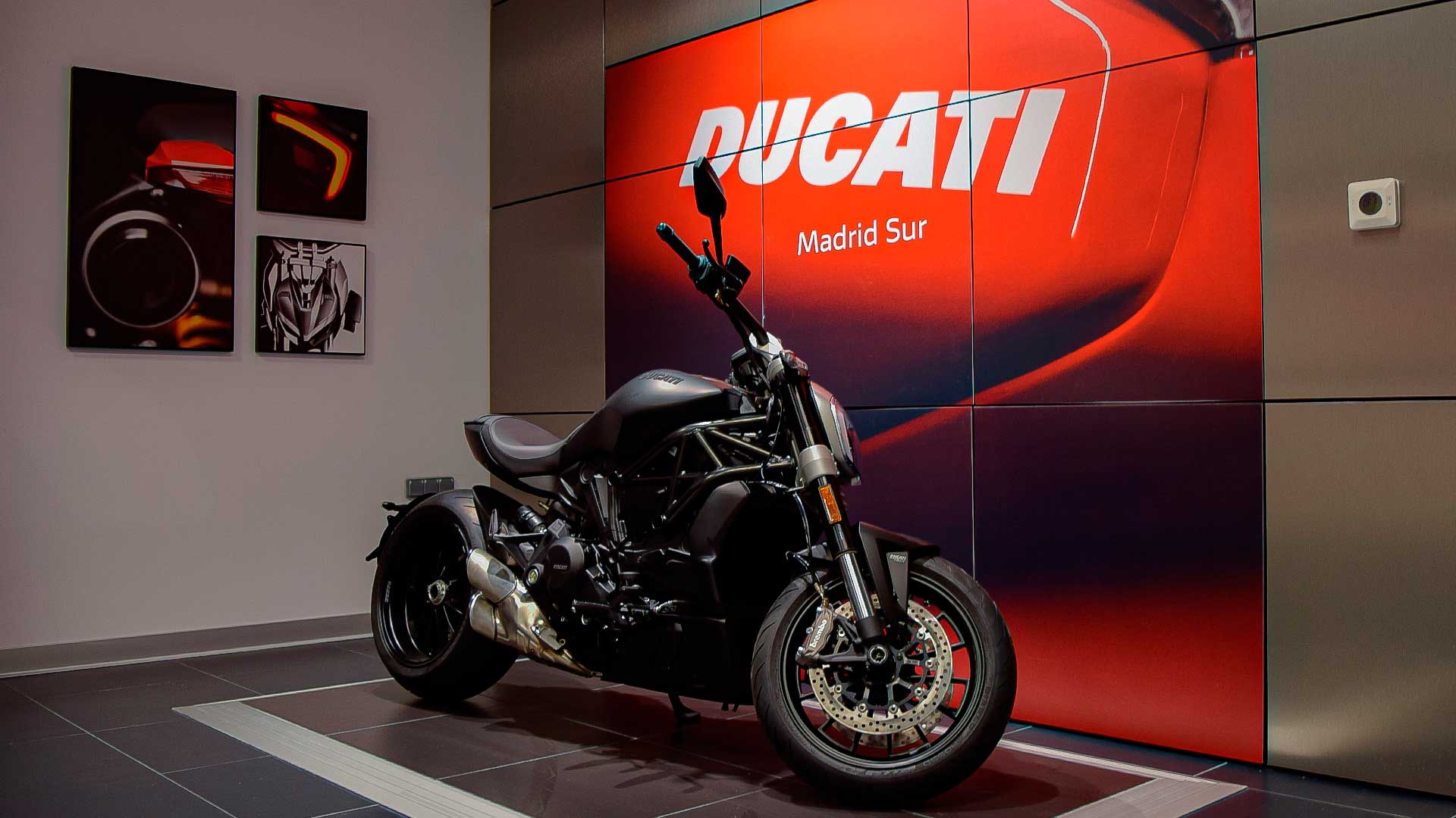 Ducati Madrid Sur abre sus puertas en X-Madrid