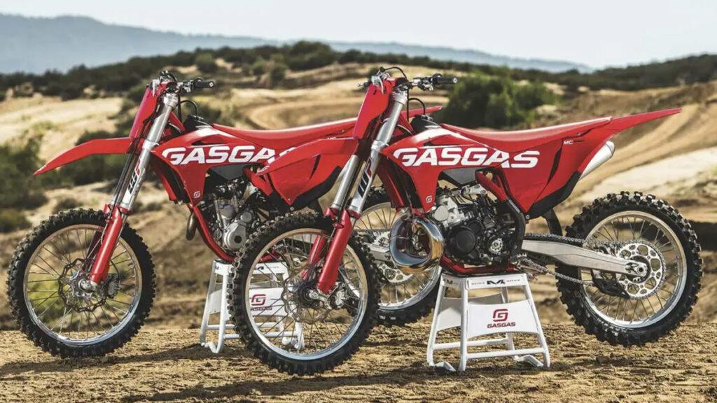 GasGas gama offroad 2022