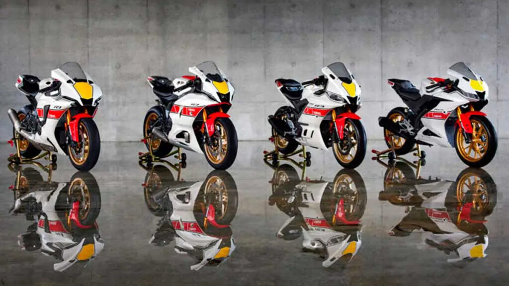 Yamaha R serie especial 60 Aniversario 2022