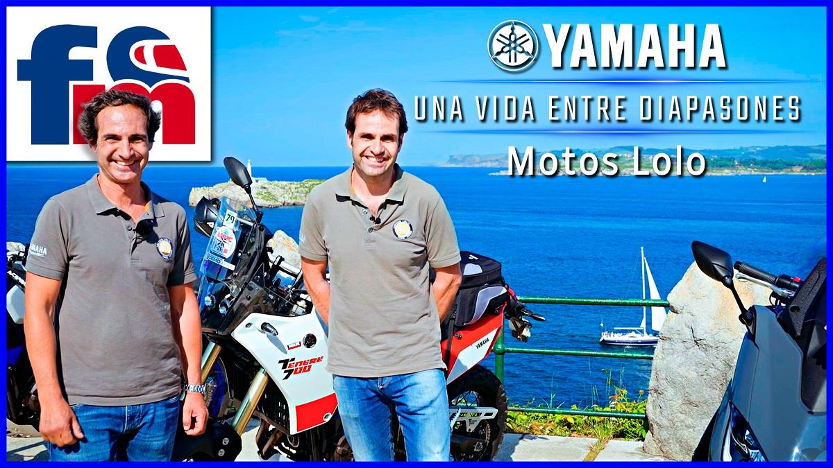 (VÍDEO) Una familia Yamaha: Motos Lolo