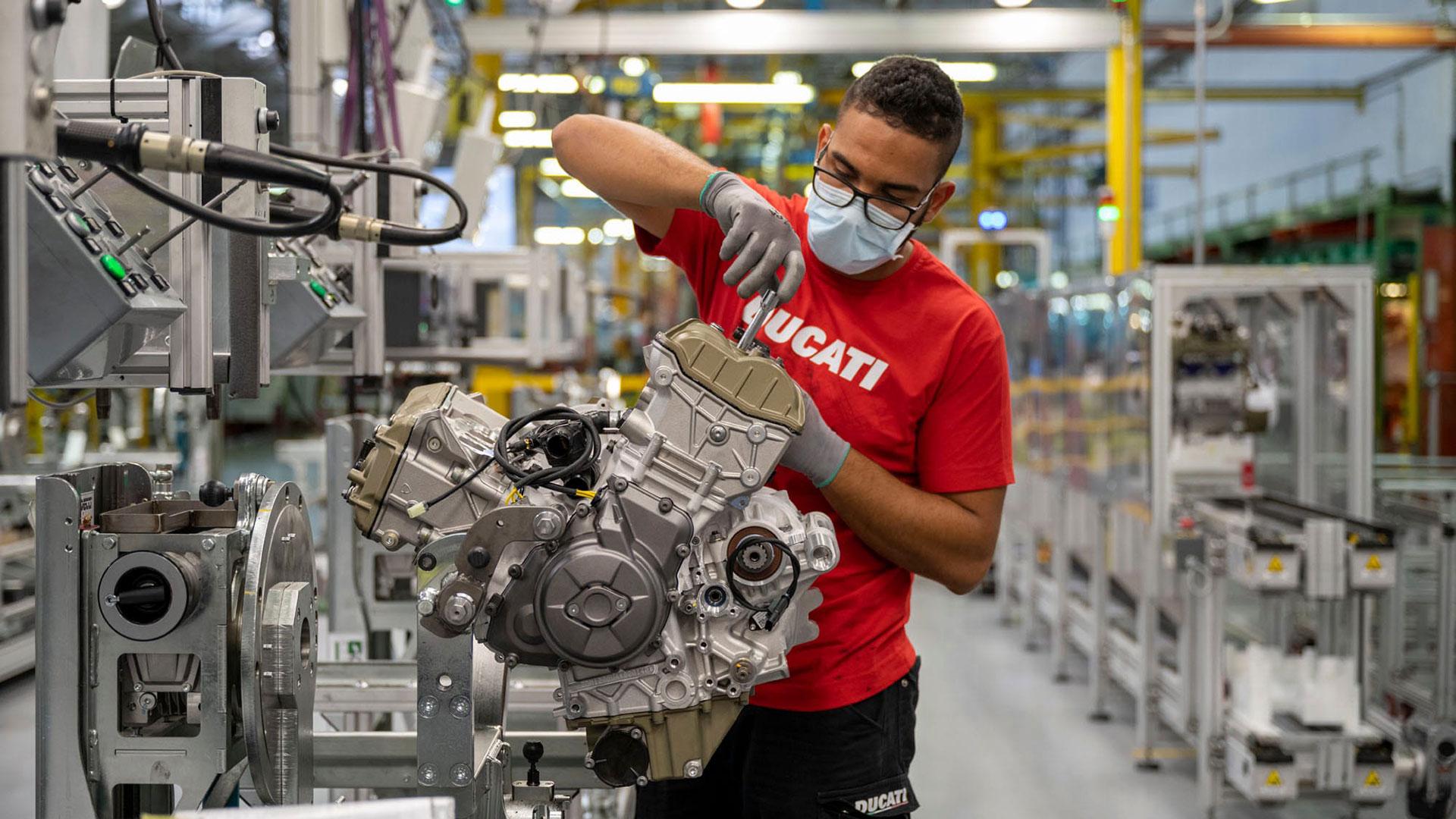 Borgo Panigale Experience: se reanudan las visitas a la fábrica de Ducati