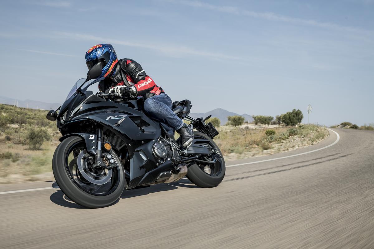 Prueba de la Yamaha R7