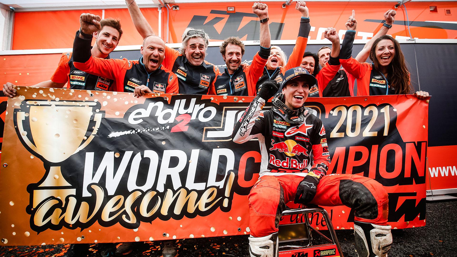 Josep García y KTM se ha hacen con el título de Enduro2