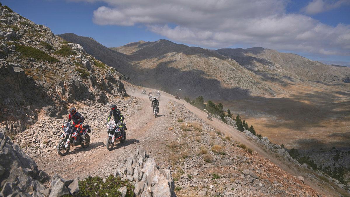 European KTM Adventure Rally: éxito de la edición 2021 en Grecia