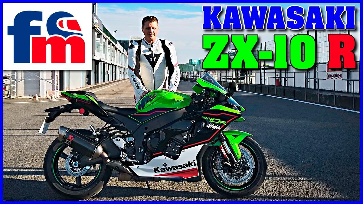 (VÍDEO) Prueba de la Kawasaki ZX-10 R