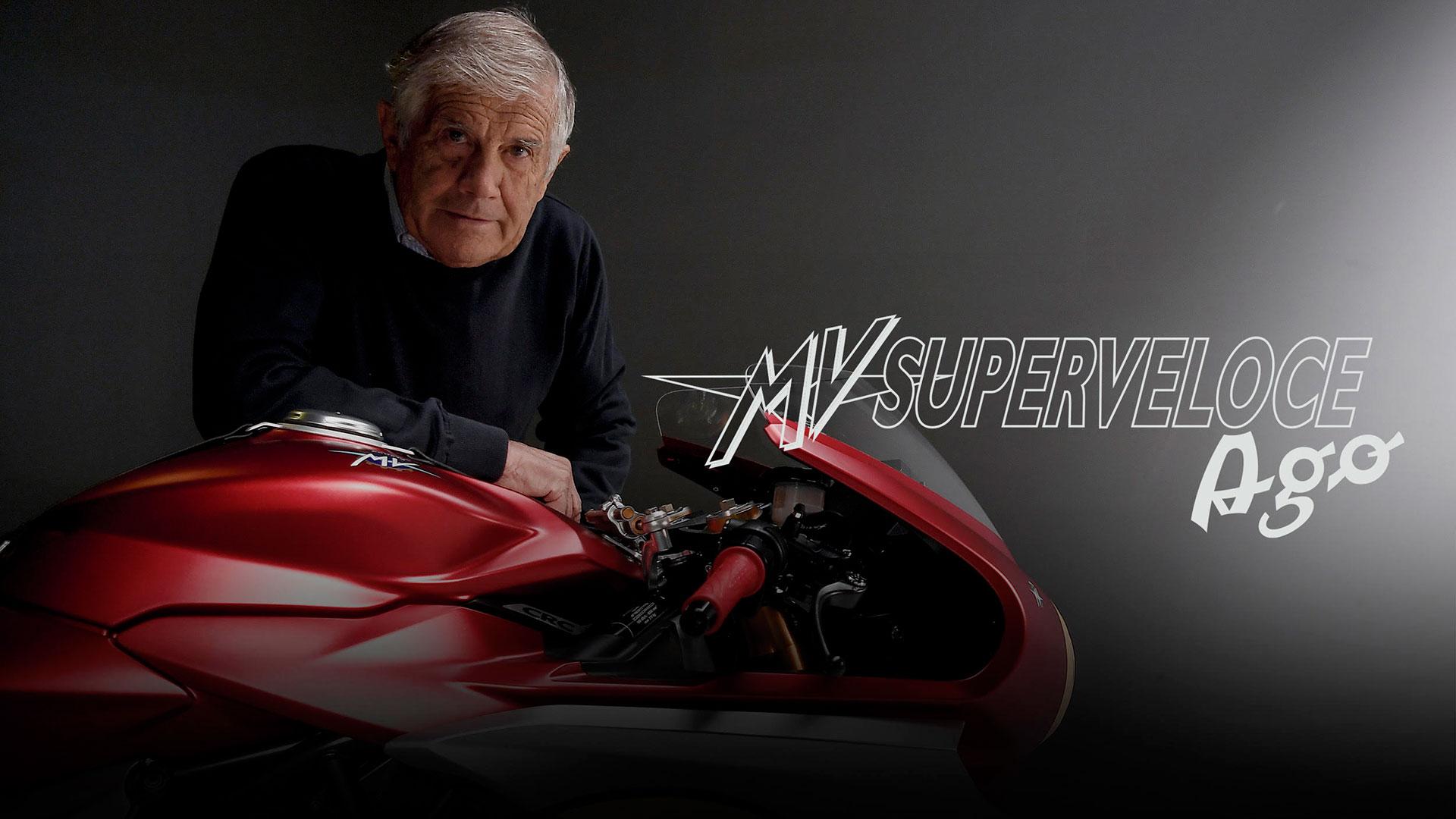MV Agusta Superveloce AGO: presentación inminente en el GP de Emilia Romaña