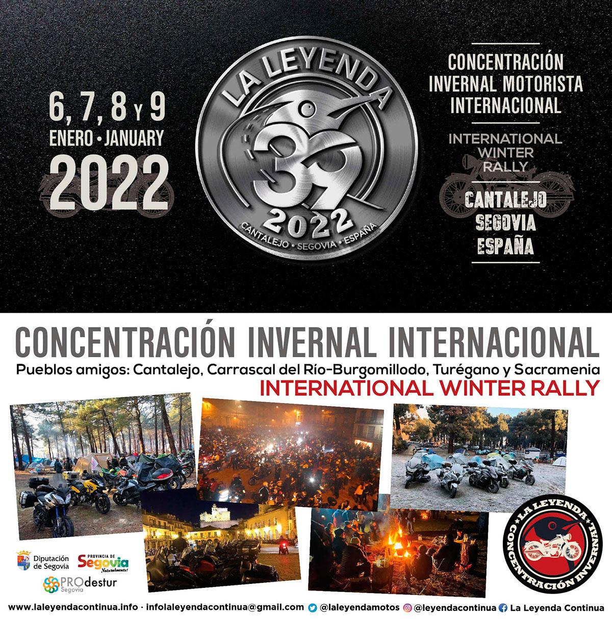 Inscripciones abiertas para concentración La Leyenda Continúa 2022