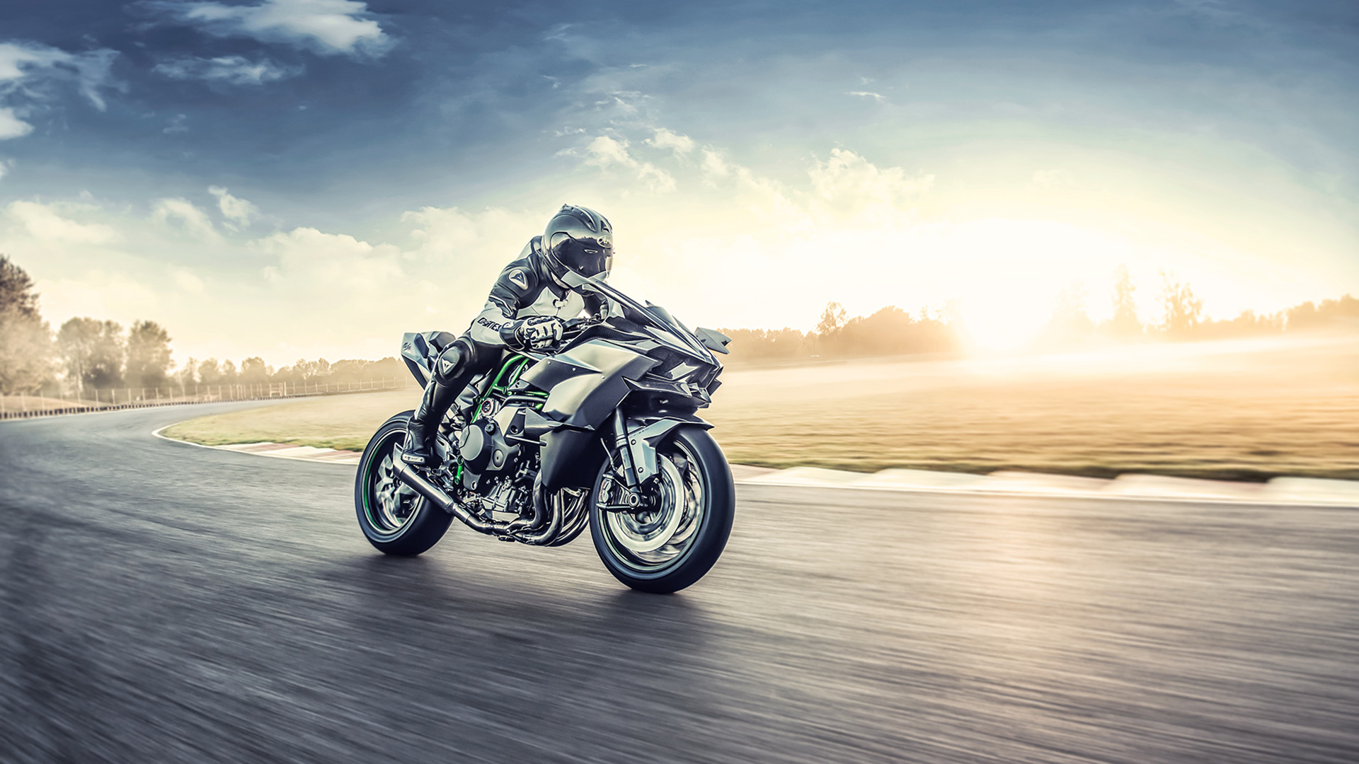 Kawasaki Ninja H2R 2022: a 'seguir volando' se ha dicho
