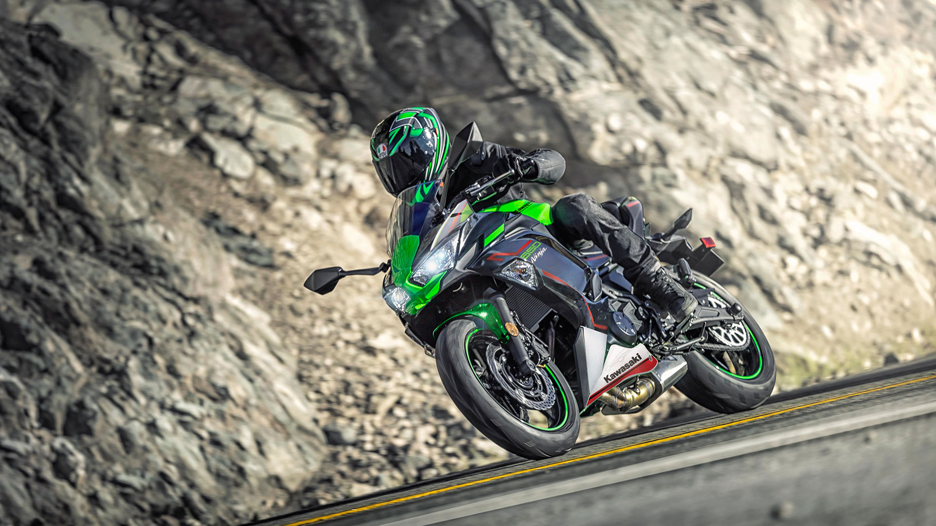 Kawasaki Ninja 650 2022: renovación cromática