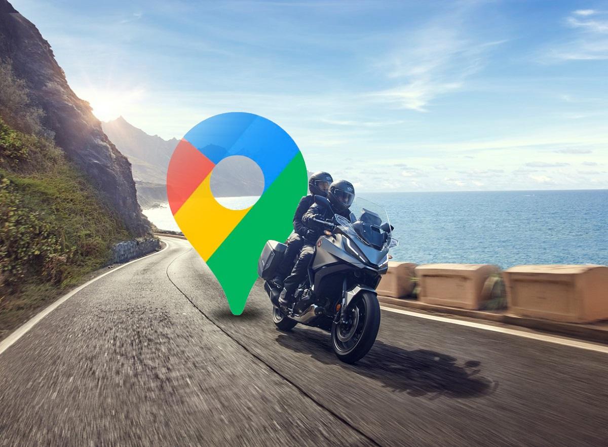 Así se convierte Google Maps en el navegador definitivo para moteros