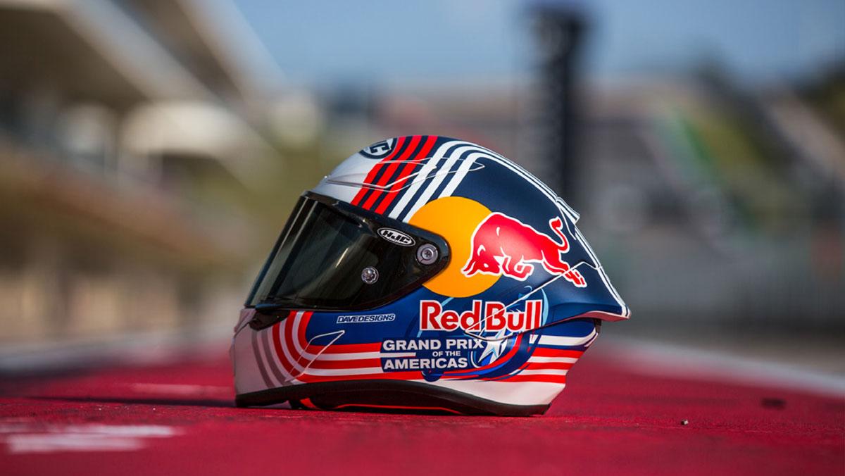 HJC RPHA 1 Red Bull Austin GP: alas para todos