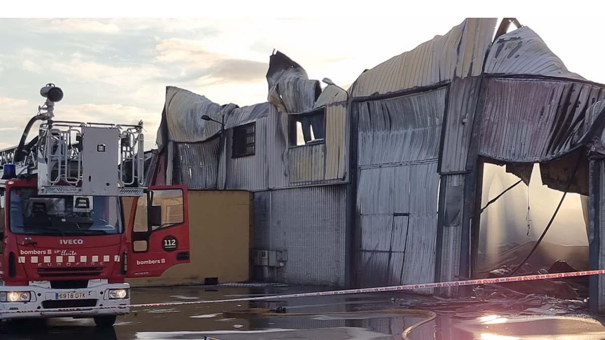 Incendio en Vilamalla: Rieju confirma que no ha habido motos afectadas