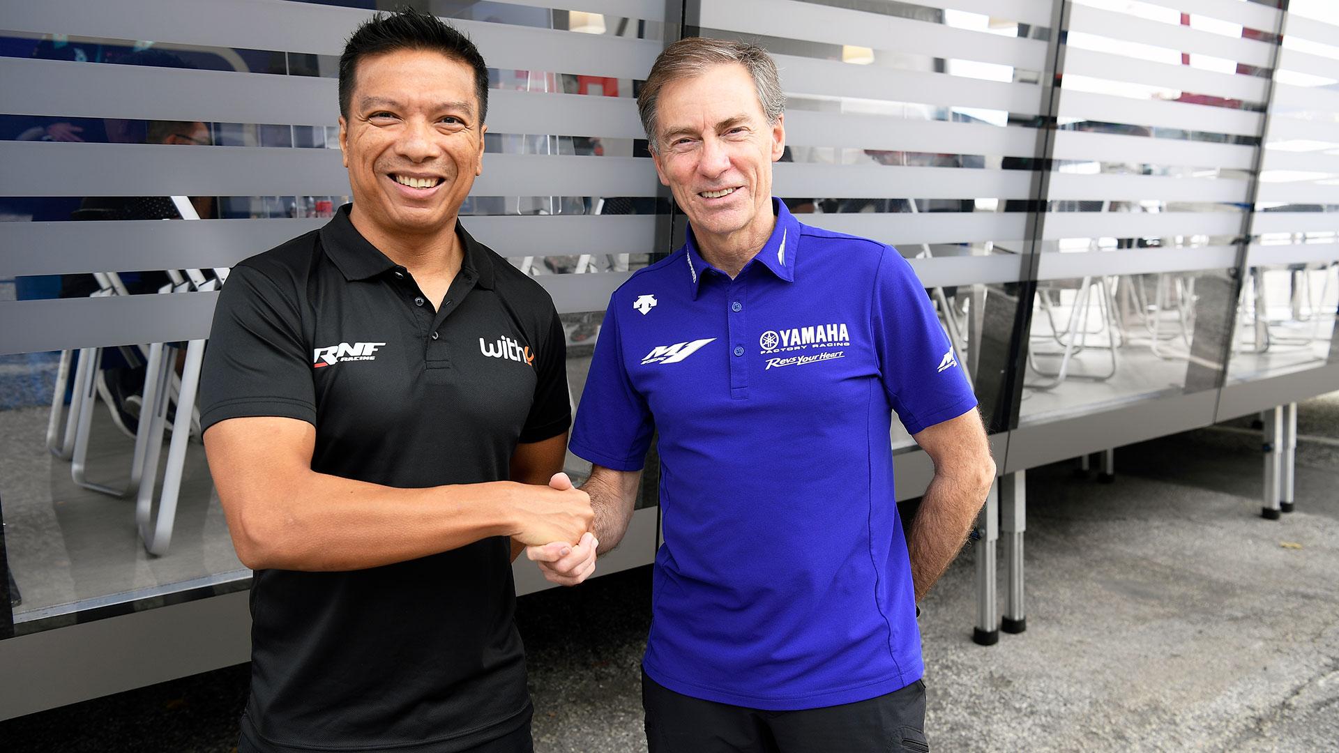 Yamaha MotoGP: nuevo equipo y nuevo piloto para 2022